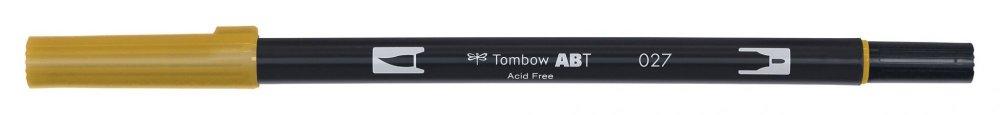 Flamaster Brush pen ABT, dark ochre