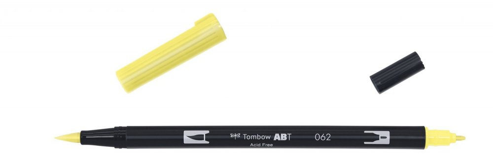 Flamaster Brush pen ABT, pale yellow
