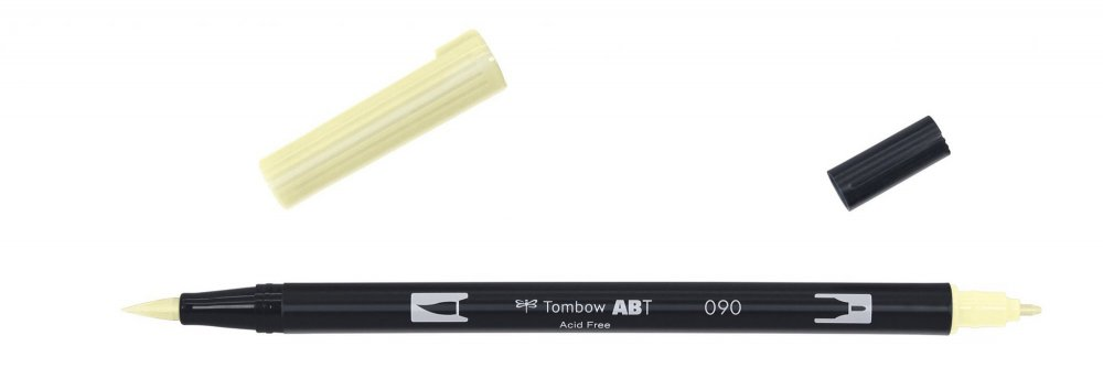 Flamaster Brush pen ABT, baby yellow