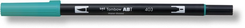 Flamaster Brush pen ABT, bright blue