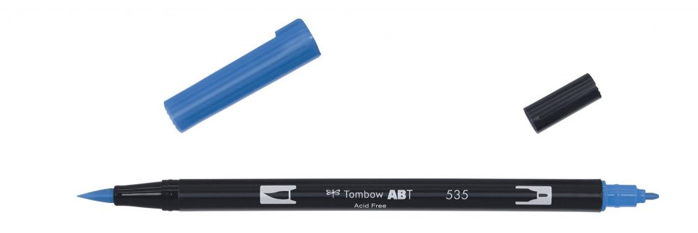 Flamaster Brush pen ABT, cobalt blue