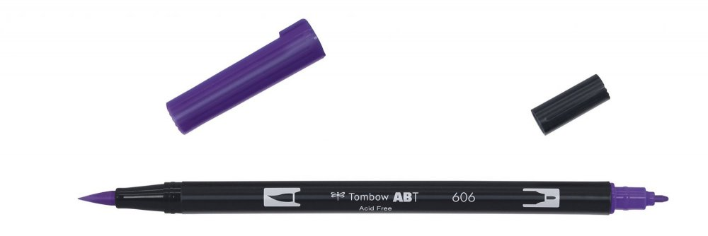 Flamaster Brush pen ABT, violet