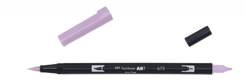 Flamaster Brush pen ABT, orchid