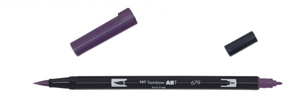 Flamaster Brush pen ABT, dark plum