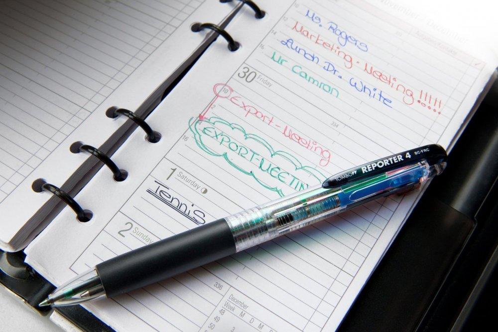 4-kolorowy długopis Reporter 4 smart