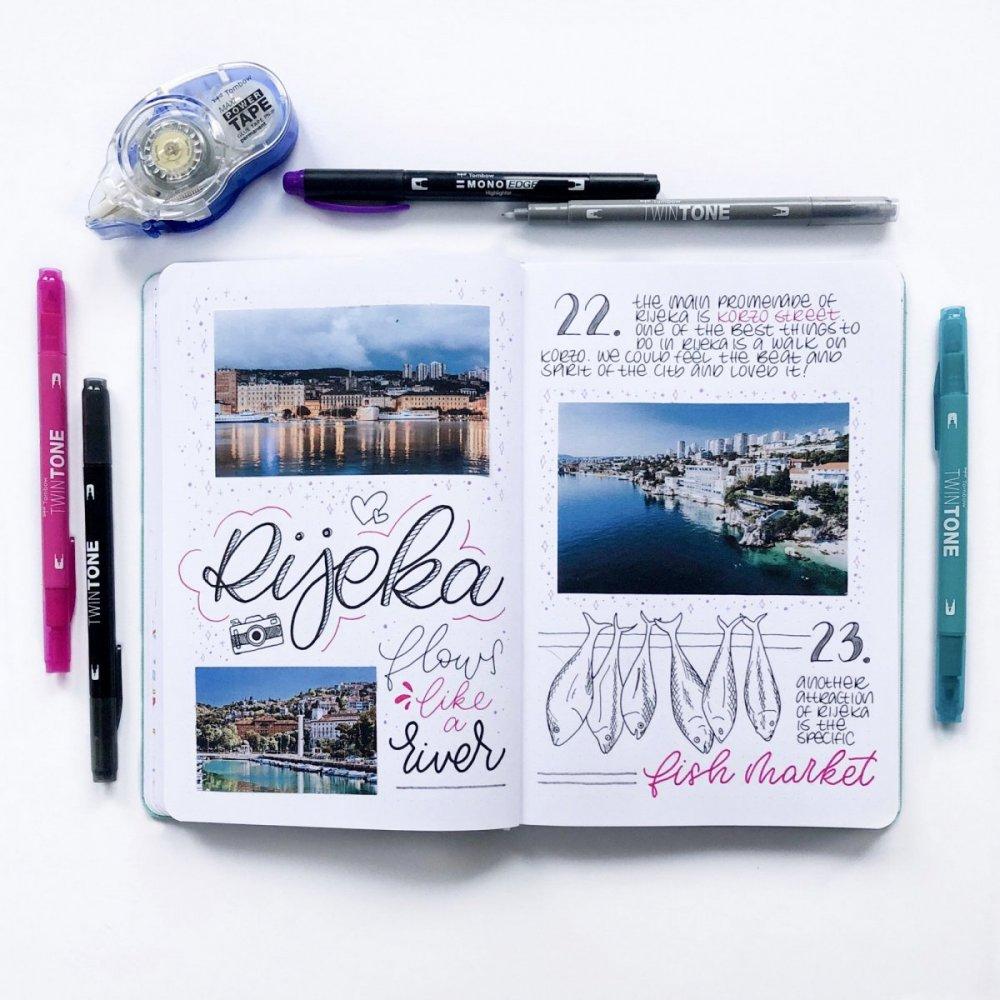 Tombow Zestaw Travel Journal