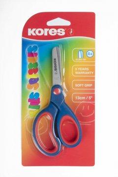 Dziecięce nożyczki o miękkim uchwycie 130mm,5