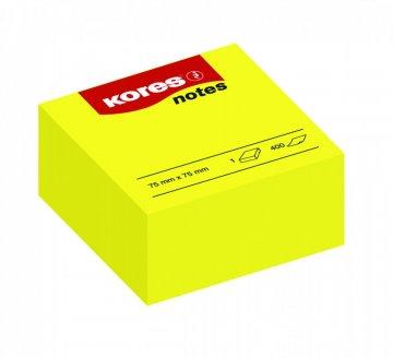 Karteczki samoprzylepne żółte 75x75mm