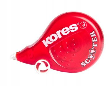 Korektor SCOOTER red 8m x 4,2mm