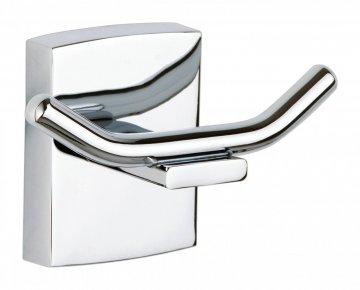 tesa® Klaam Samoprzylepny podwójny łazienkowy haczyk na szlafrok